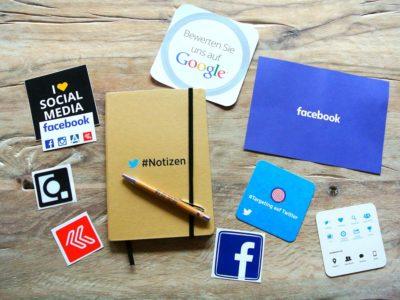 Soziale Medien auf Webseite nutzen