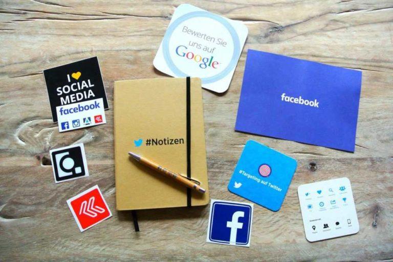 Soziale Medien Symbole