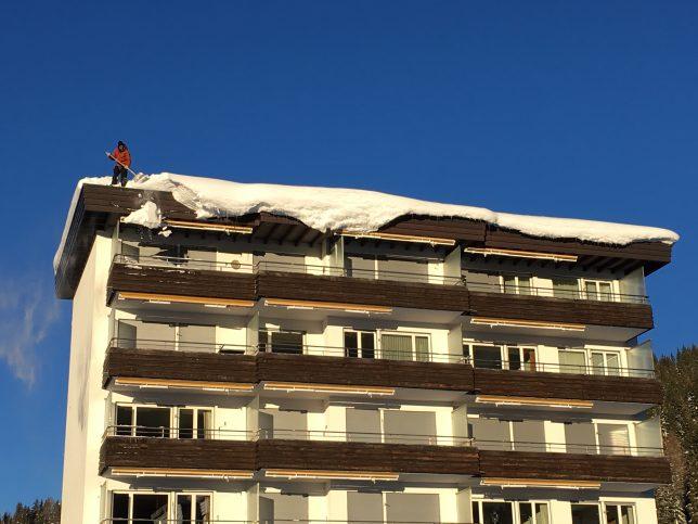 Schneeräumung